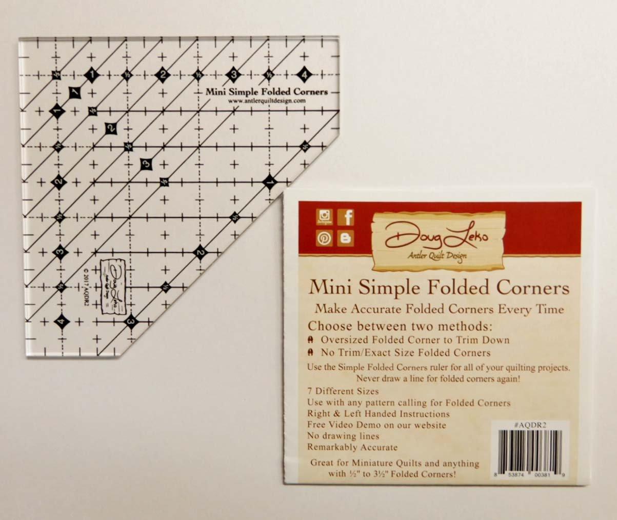 Doug Leko's Mini Simple Folded Corners Tool