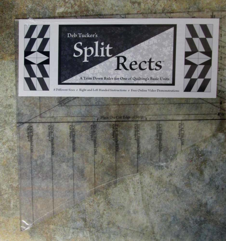 Deb Tucker's Split Rects Ruler