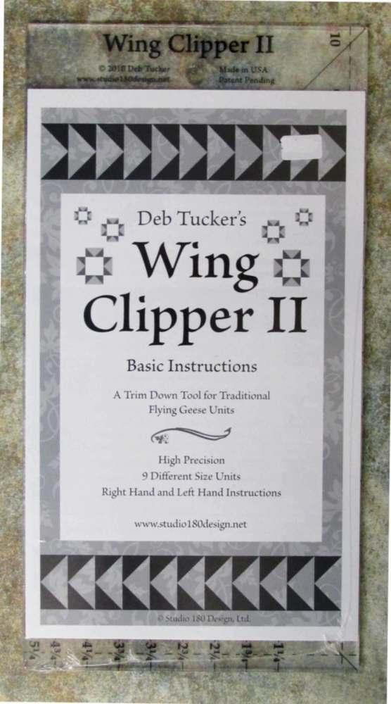 Deb Tucker's Wing Clipper II Ruler
