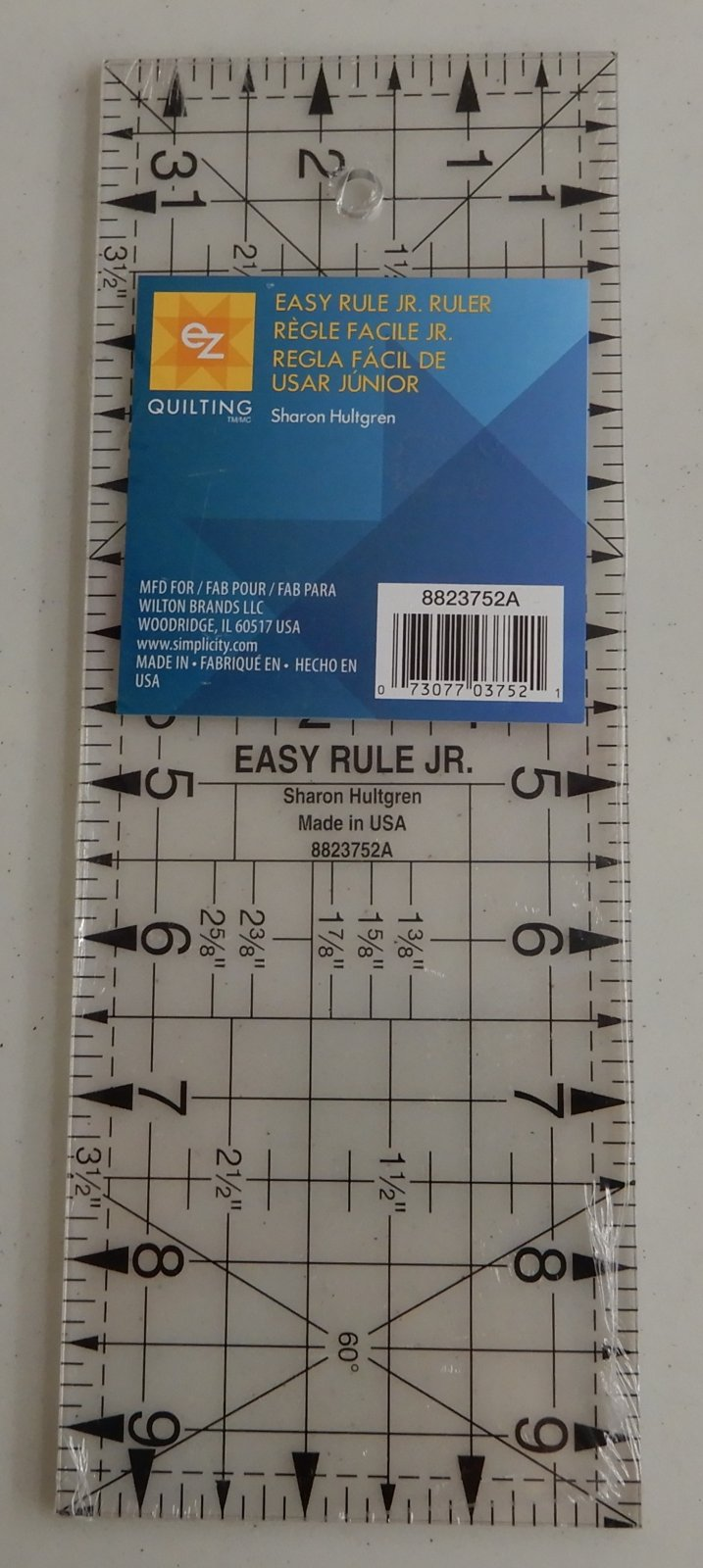 Easy Rule Jr. Ruler 3 1/2 x 9 1/2