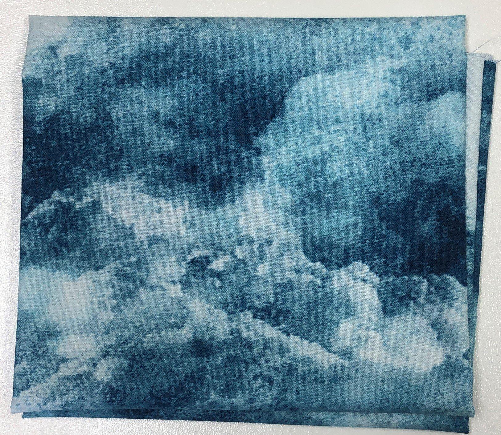 Cloudy Skies - Fat Quarters 20x22 - FQ004