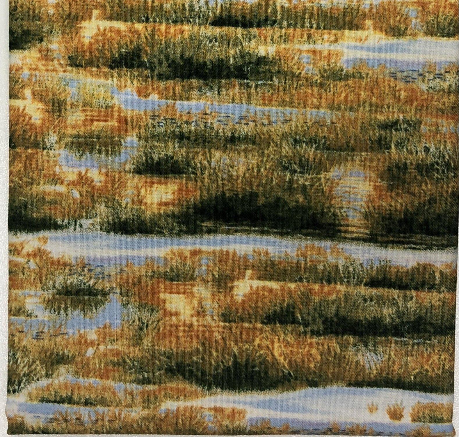 Winter Field - Fat Quarters 20x22 - FQ019