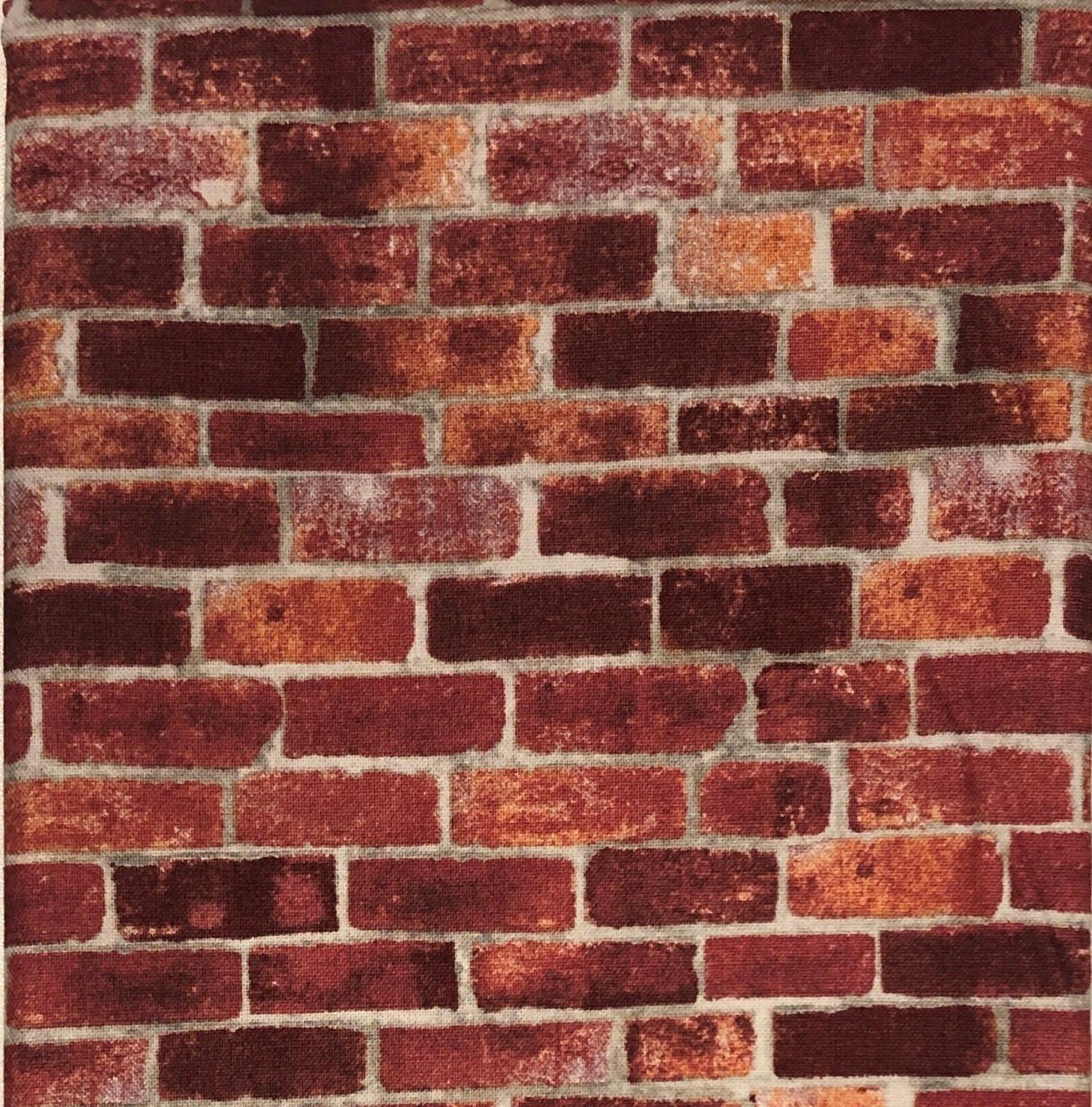 Brick Wall - Fat Quarters 20x22 - FQ021