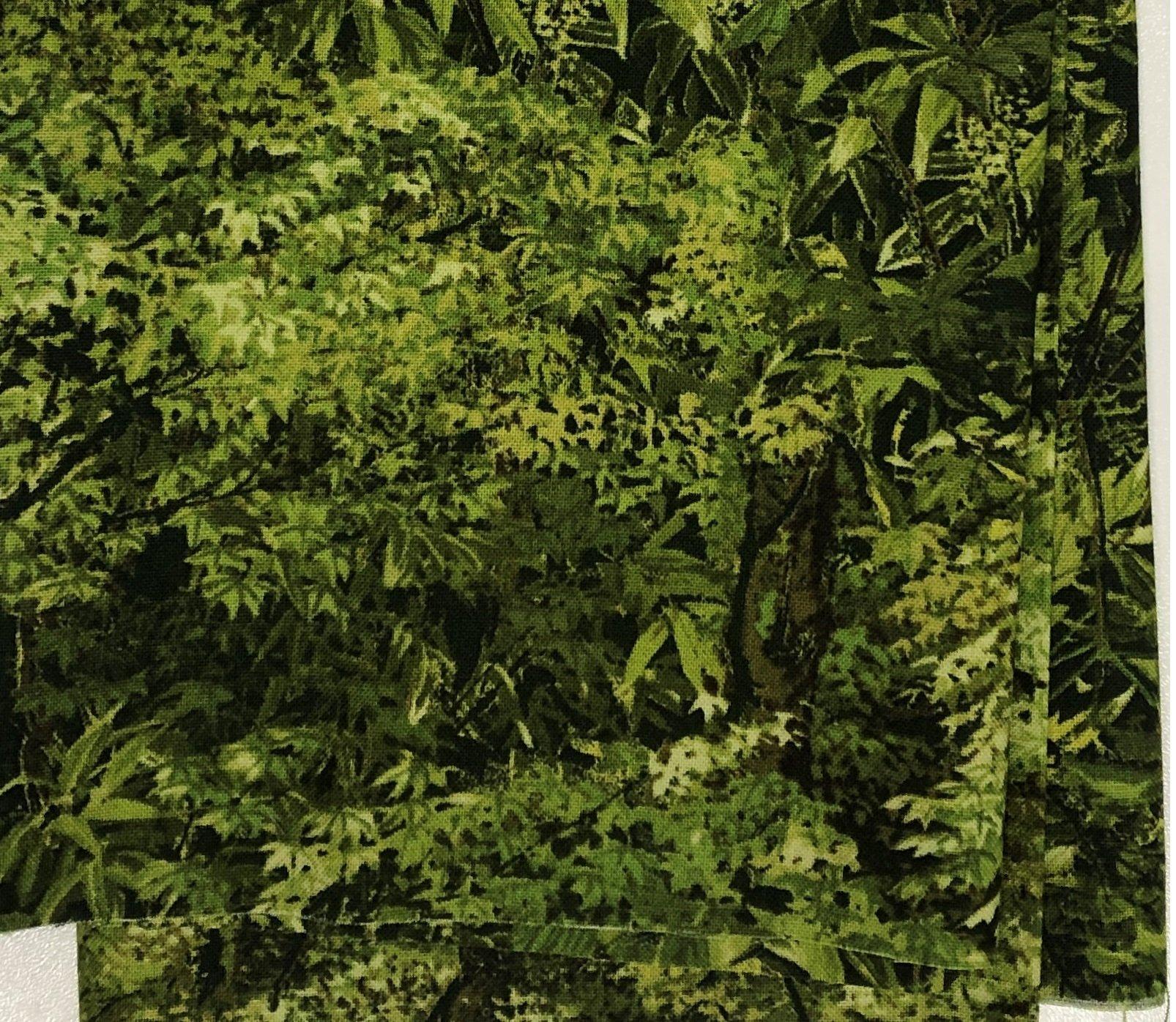Green Foliage - Fat Quarters 20x22 - FQ023