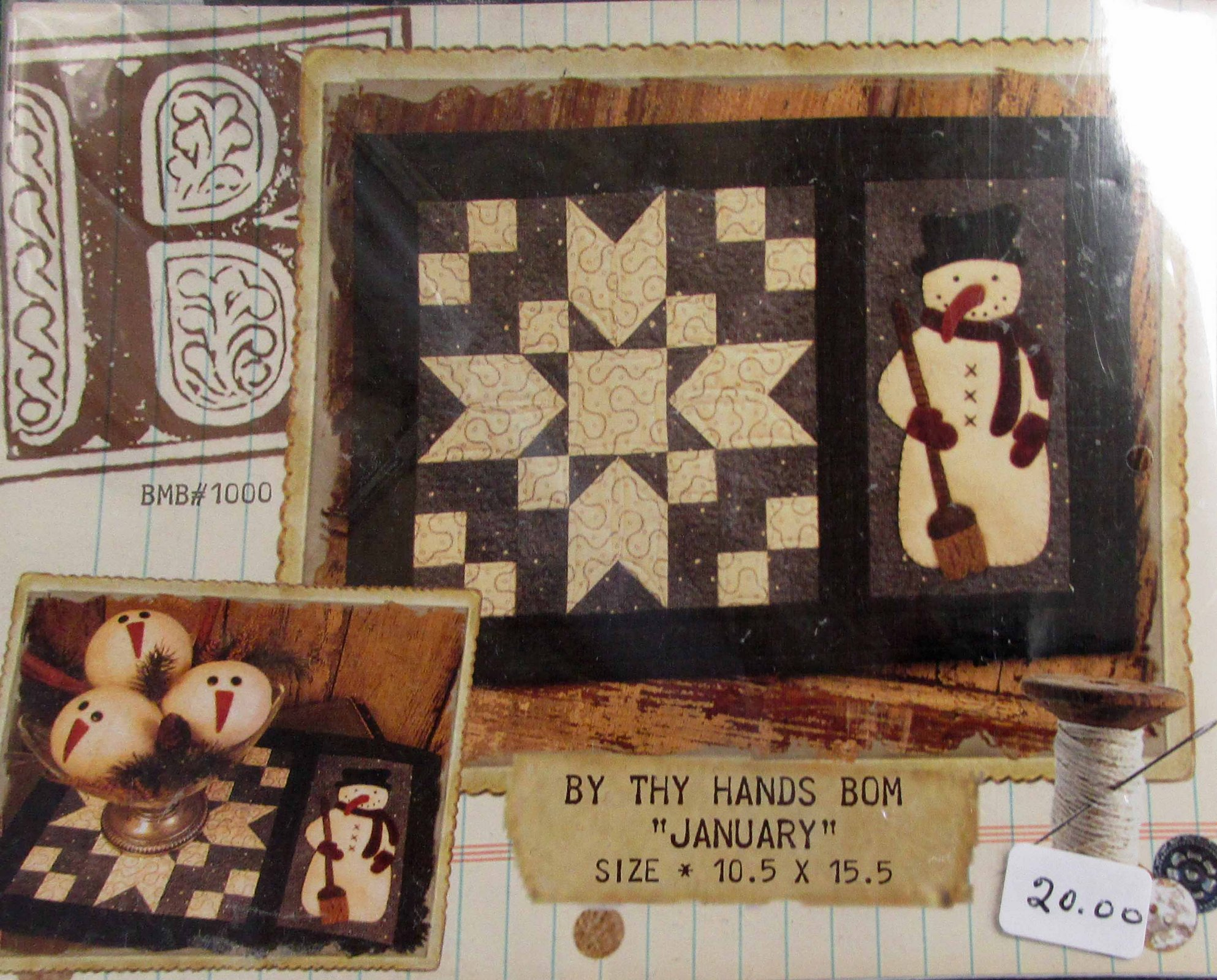 By Thy Hands: 12 different patterns, one for each month of the year