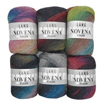Nightshift  Shawl kit - Lang Novena