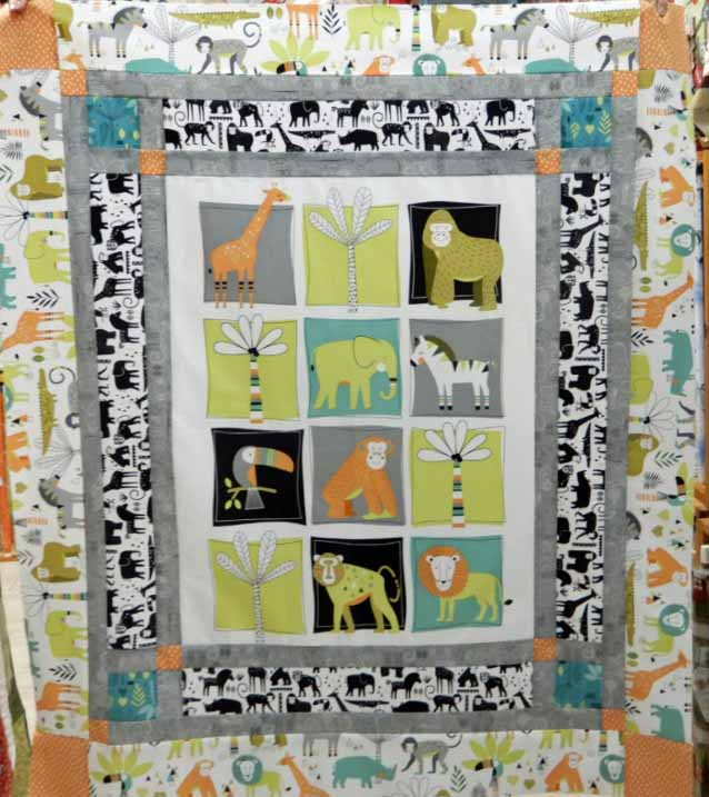 On Safari Quilt Kit
