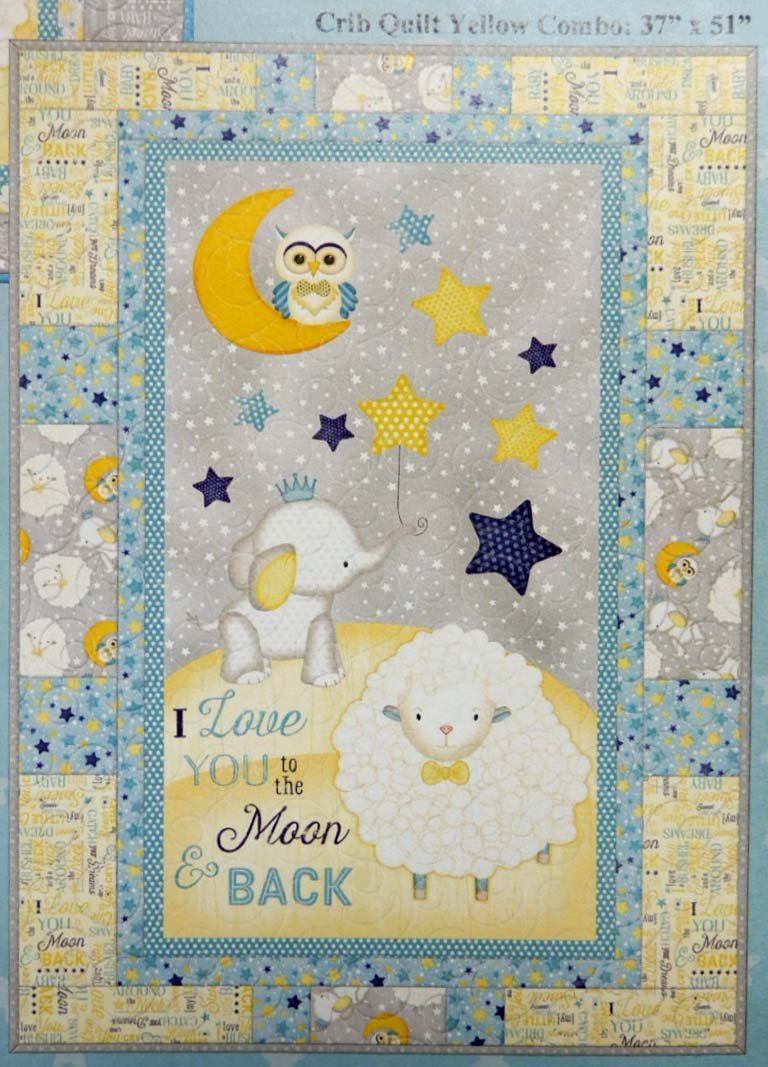 To The Moon & Back Flannel Quilt Kit