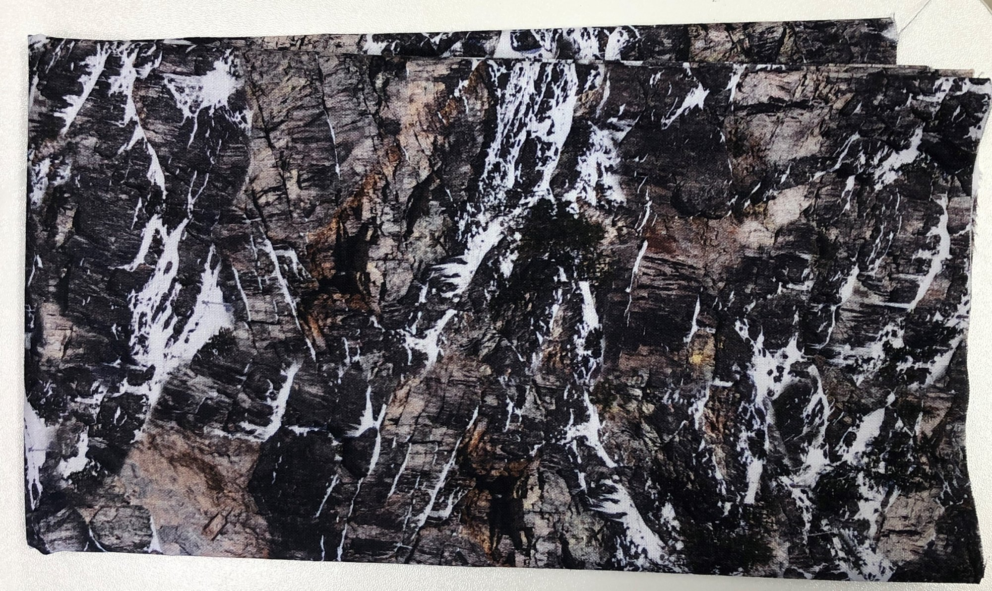 Rocky Mountains with Snow - Pre-cut 1/2 meter 20x42 - PC007