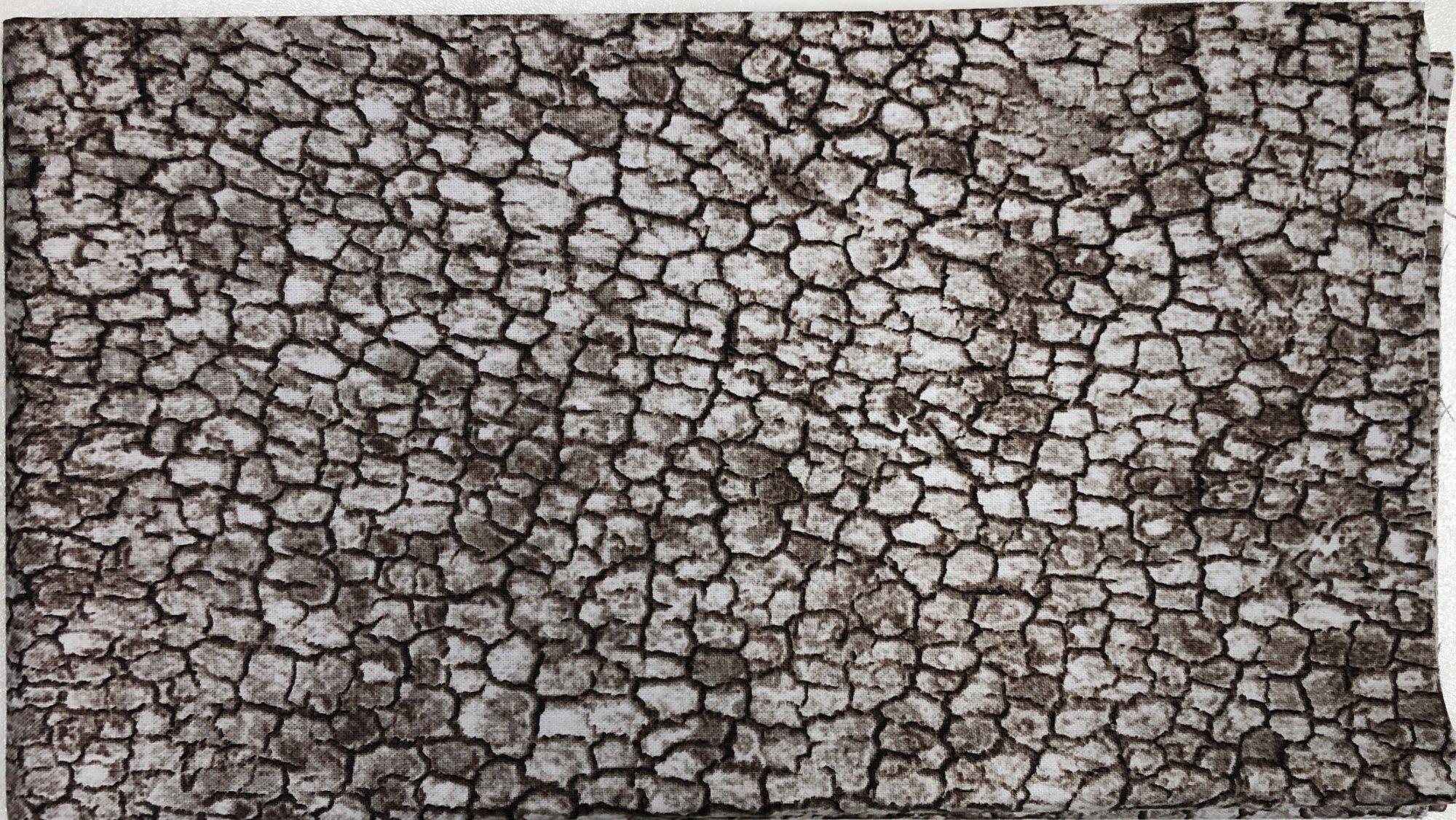 Dried River Basin - Pre-cut 1/2 meter 20x42 - PC014