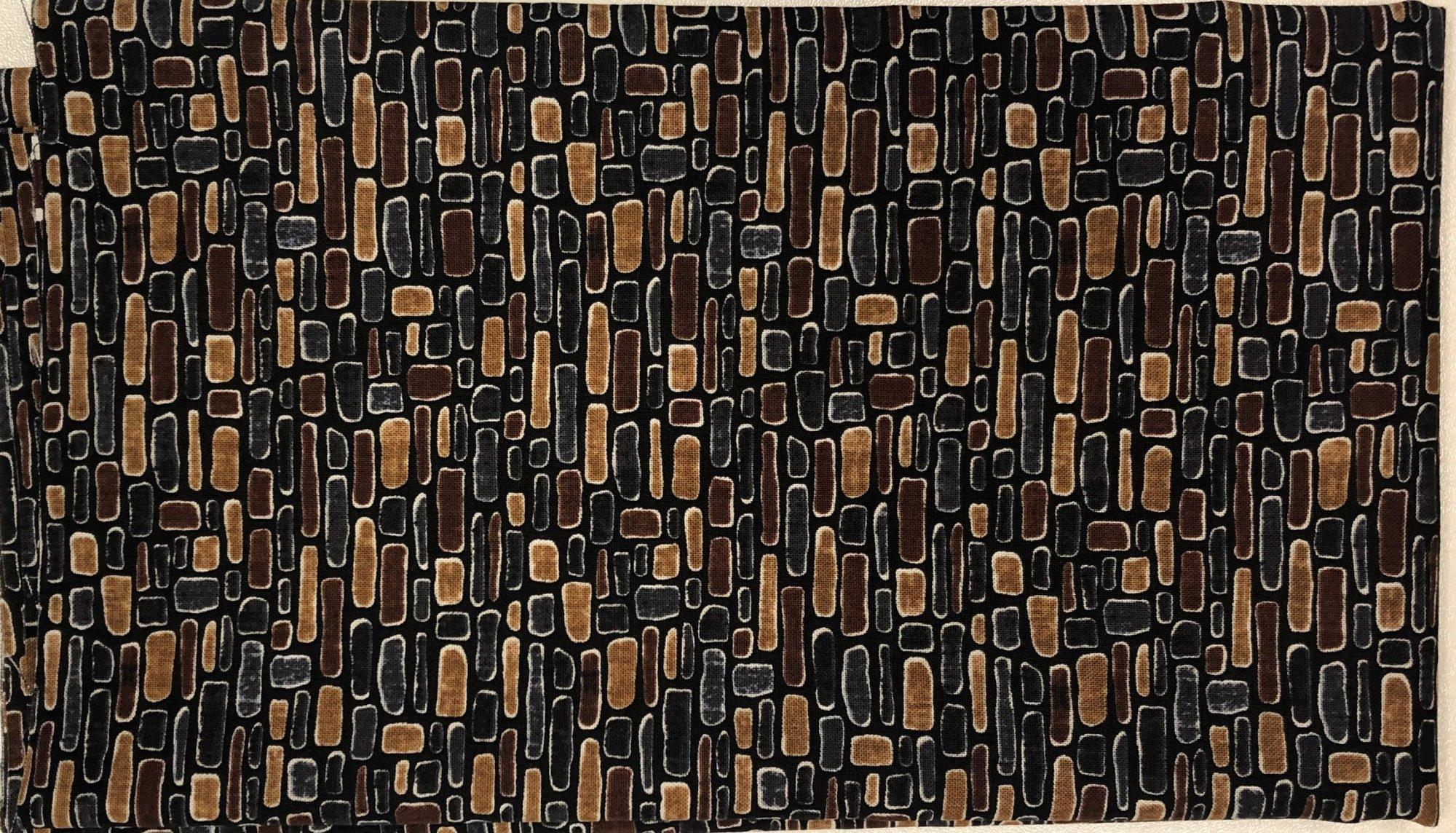 Brown Stone Wall - Pre-cut 1/2 meter 20x42 - PC015