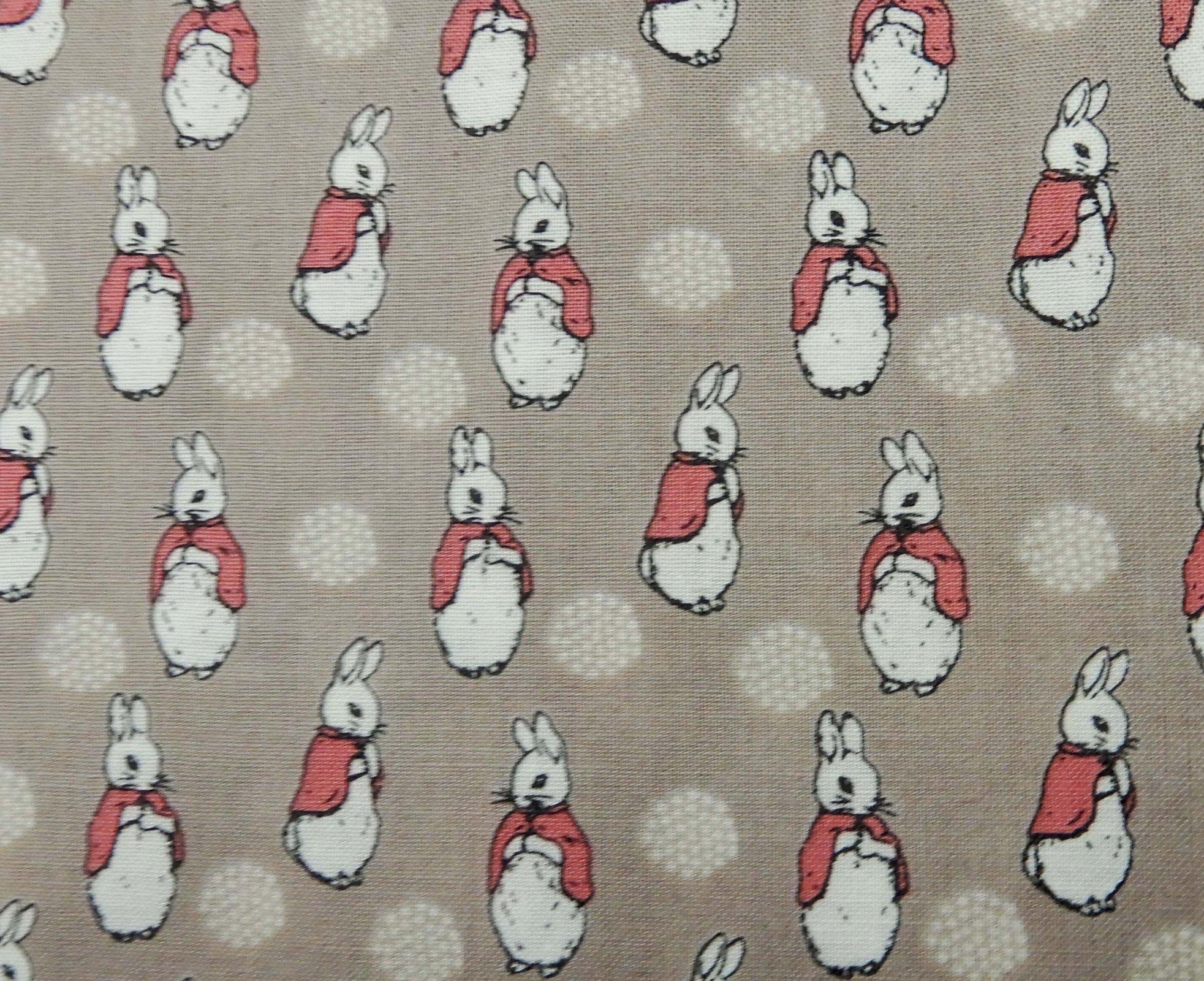 Peter Rabbit Fabric - Pink Coat