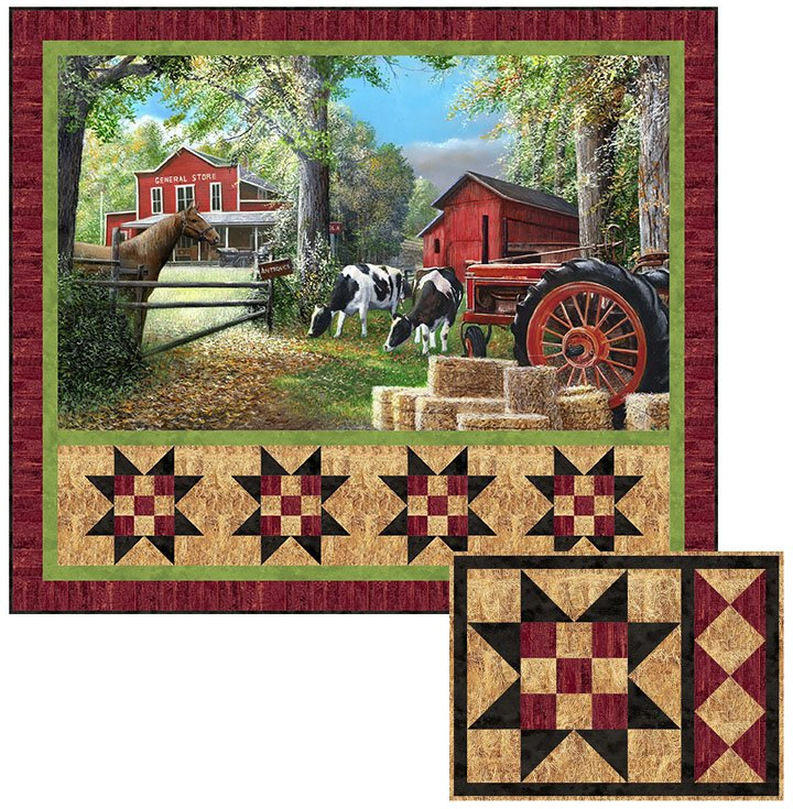 Country Home - Naturescapes - Single PTN2664-10