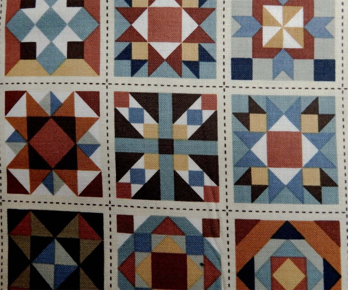 Heritage Quilts Fabric: Quilt Blocks