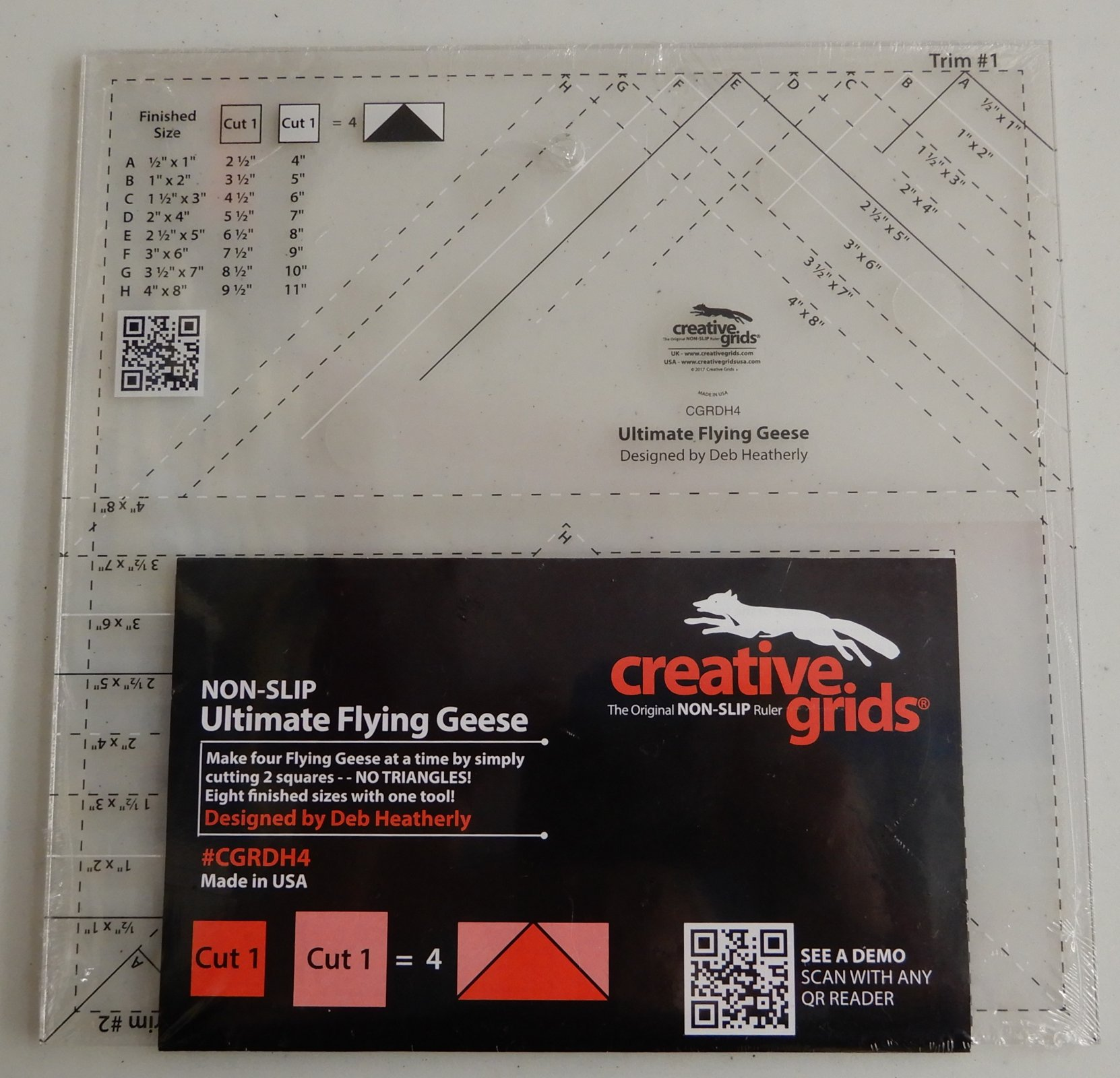 Creative Grids Ultimate Flying Geese