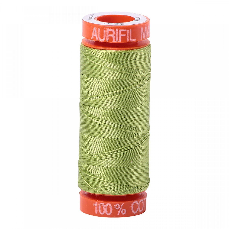 Aurifil 50 WT Cotton (Spring Green) 220 yd