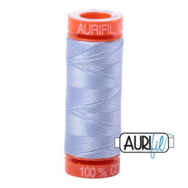 Aurifil 50 WT Cotton (Very Light Delft) 220 yd