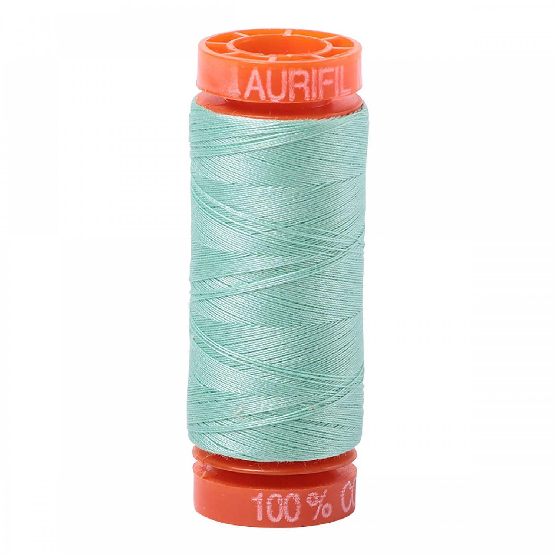 Aurifil 50 WT Cotton (Medium Mint) 220 yd