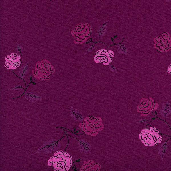 Roses in Magenta