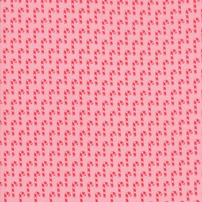 Sweet Christmas Candy Cane in Pink Buttermint
