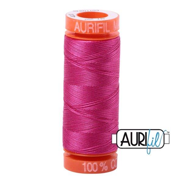 Aurifil 50 WT Cotton (Fuchsia) 220 yd