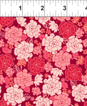 Carnation in Pink Red