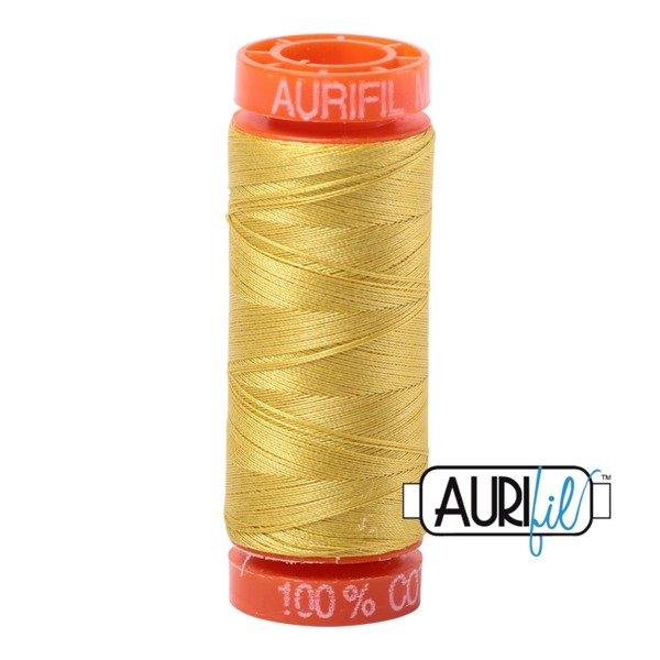 Aurifil 50 WT Cotton (Gold Yellow) 220 yd