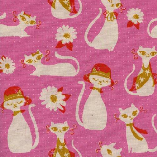 Fancy Cats in Pink