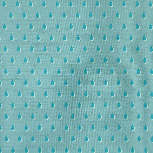 Drops in Aqua