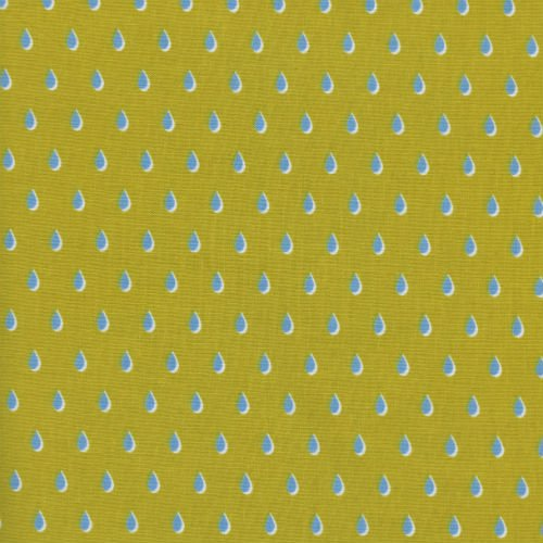 Drops in Yellow