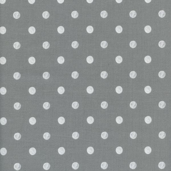 Caterpillar Dots in Grey