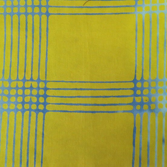 Plaid in Lemon