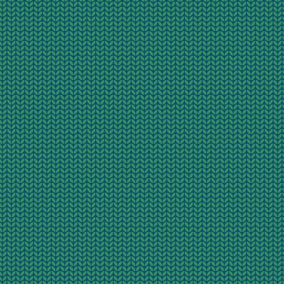 Purl Knit in Emerald