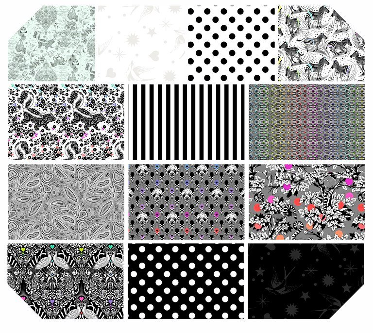Linework Fat Quarter Bundle (13)