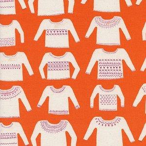My Favorite Sweater in Orange