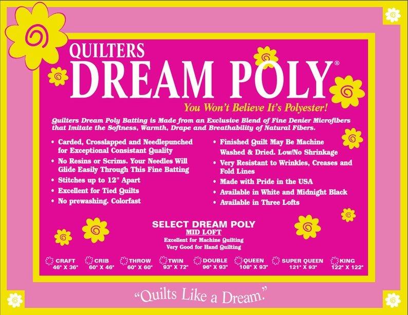 Quilters Dream Poly Deluxe | Queen Batting