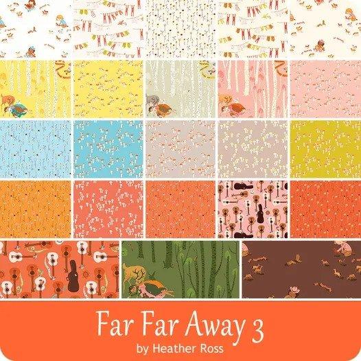 Far Far Away 3 FQ Bundle (23 pcs)