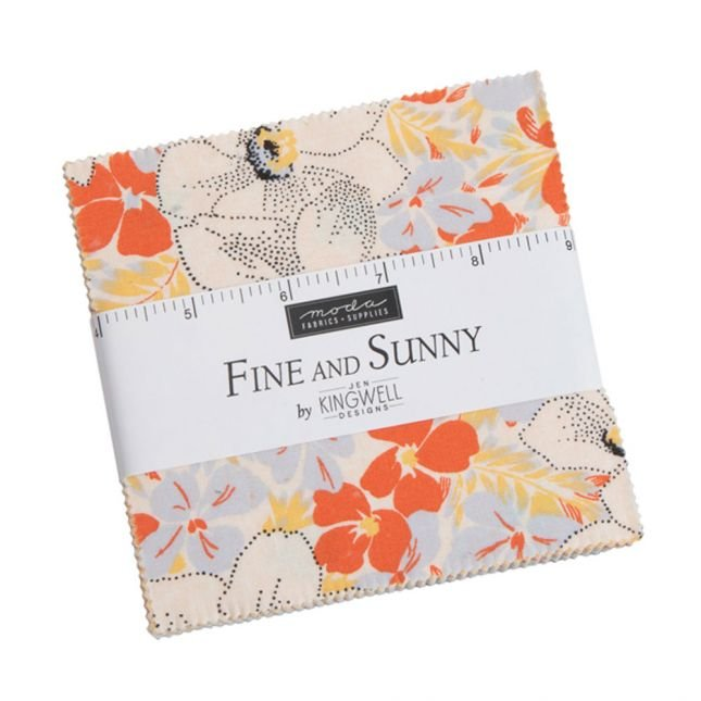 Fine and Sunny Charm Pack
