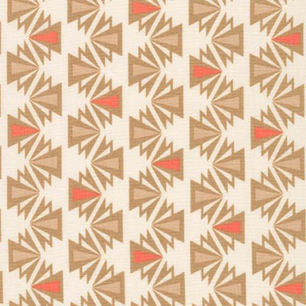 Fragmental Deco Stripe - Salmon