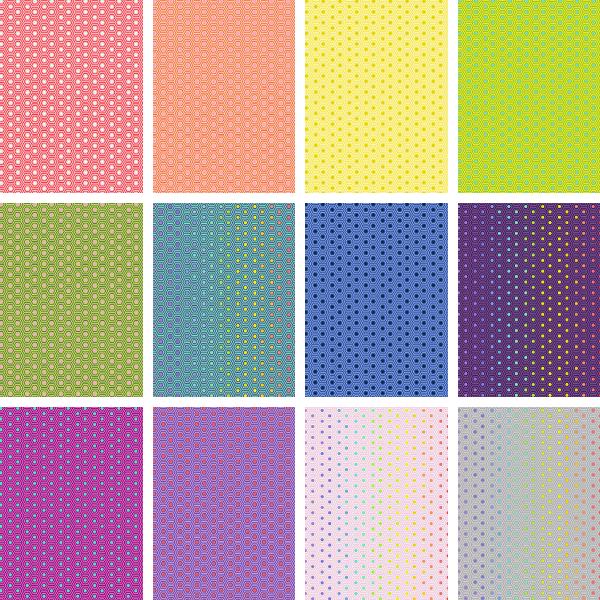 PRE-ORDER | True Colors-Hexy Fat Quarter Bundle (12)