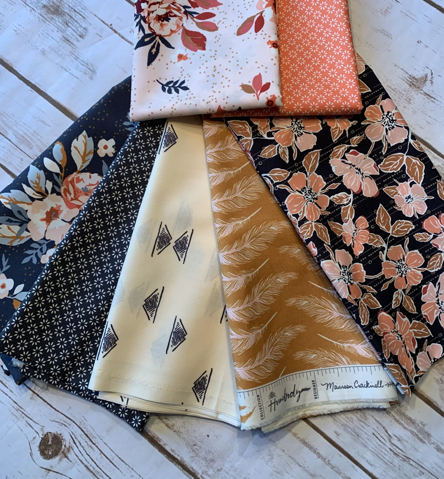 Homebody Fat Quarter Bundle (7 prints)
