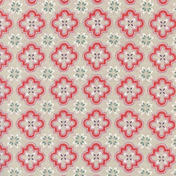Porch Tile in Coral