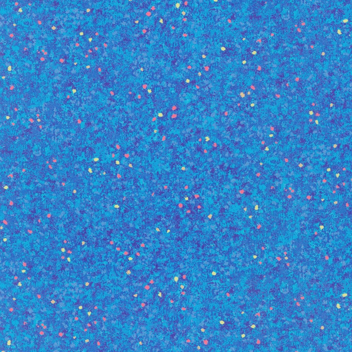 Painterly Petals-Speckles of Blooms-Blue