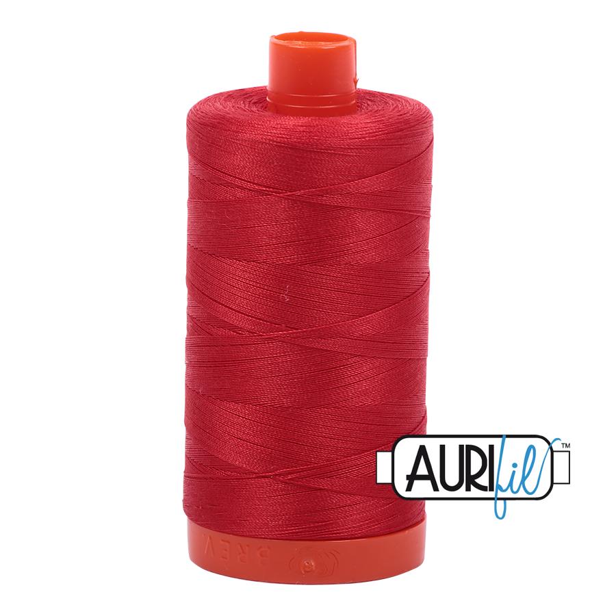 Aurifil 50wt #2265 Lobster Red