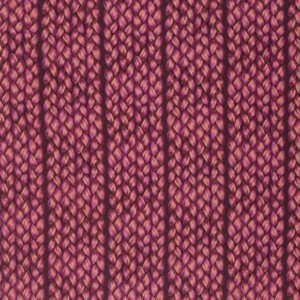 Plaited in Magenta