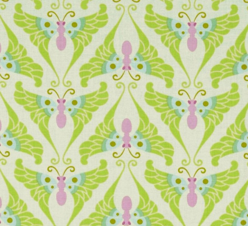 Papillon in Lime