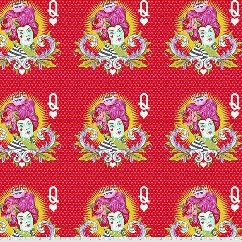Curiouser & Curiouser Red Queen - Wonder