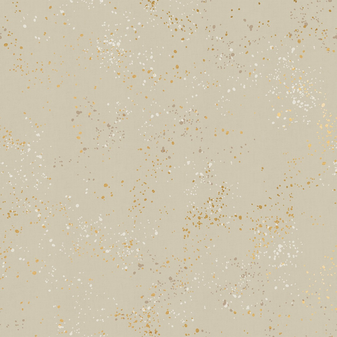 Speckled in Gold Metallic Natural