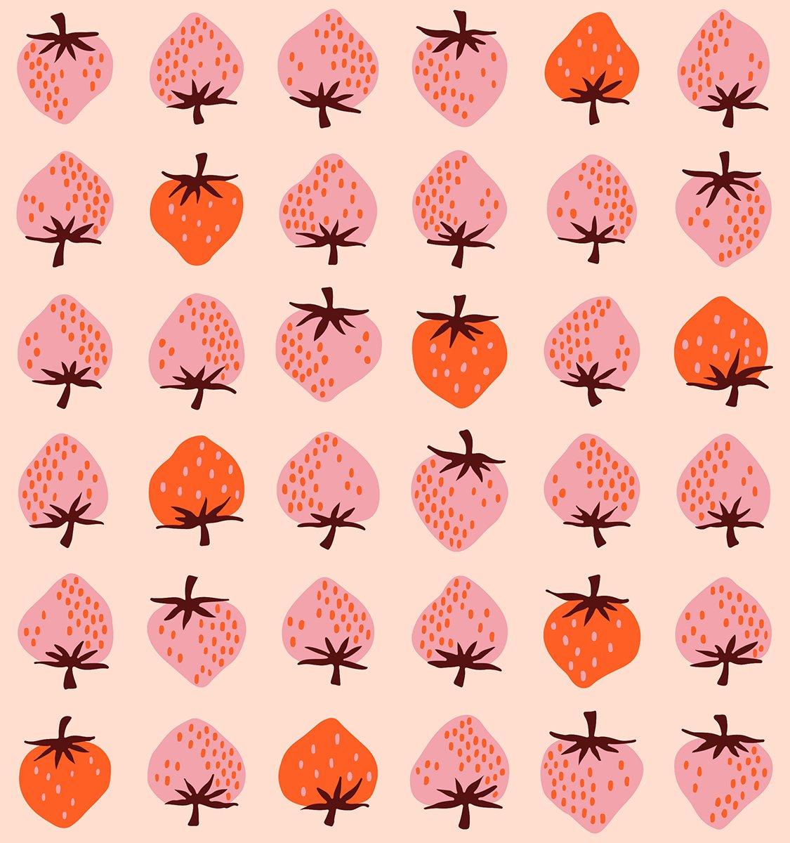 Darlings Strawberries in Peach