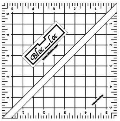 Bloc-Loc 5.5 Half Square Triangle Ruler
